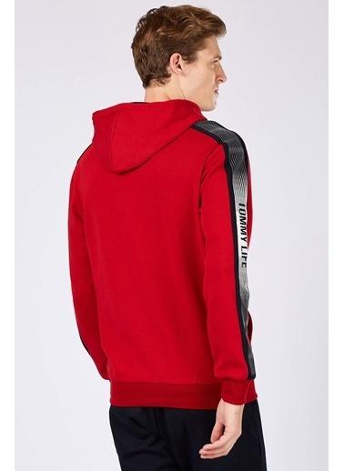 Tommy Life Sweatshirt Kırmızı